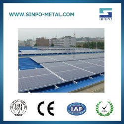 太陽エネルギーの構造のためのアルミニウムSolar Energy土台システムパネルブラケット