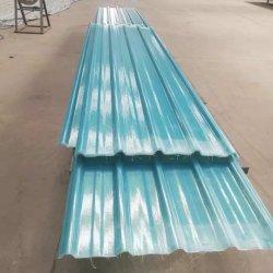 Clarabóias de plástico reforçado por fibra de papelão ondulado resistente ao calor da folha do tecto