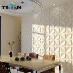 인기 브랜드 배경 화면 홈 3D 모던 장식 PP 벽 코팅 3D 벽면 패널 플라스틱
