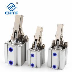 Alc / Jgl 25 32 40 50 63 зажимной цилиндр двойного действия воздушный компрессор пневматического цилиндра выравнивания компонентов рычага цилиндра