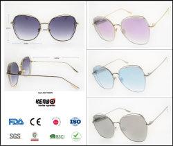 2019 Новые металлические мода тенденции наиболее востребованных солнечные очки Безободковые, копия популярной торговой марки очки, аксессуар, пункт № км19005