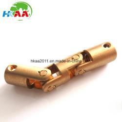 A alta precisão de aço carbono maquinado CNC/Mini Latão Junta Universal da Direção