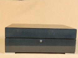 Uhrenbox Aus Holz Aus Kohlefaser-Papier/Geschenkschachtel/Schmuckschatulle