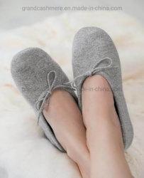 Tricot de cachemire pantoufles