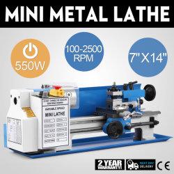 Tienda de bricolaje High-Precision Mini torno Metal de sobremesa de la Máquina Herramienta de visualización digital de la molienda de velocidad variable