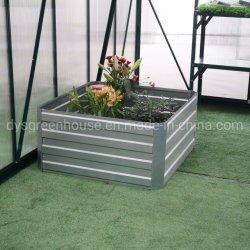 プラスチック植木鉢は電流を通した鋼鉄によって上げられた庭に育てるベッドによって波形を付けられたシートの庭プランターボックスによって上げられた菜園のベッド(RDSG0909030-Z2)を