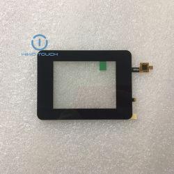 LCD용 터치 스크린 블랙 실크 소형 크기 정전식 터치 스크린 표시