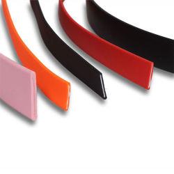 ヘルメットの顎および犬の鎖のための無地の適用範囲が広いPVCによって塗られる溶接できるウェビング