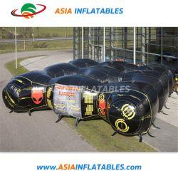 La cúpula de la etiqueta de láser inflables Juegos Inflables y juegos de disparos láser Bouncer
