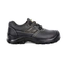 Ce style de base des meilleures industriel de la vente d'Hommes Chaussures de sécurité de la construction en cuir gaufré de chaussures de travail des femmes Garantie de qualité de gros de semelle PU Heavy Duty Sn5809