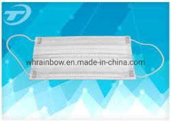 China Fabricante de máscara facial 3 Máscara Ply não tecidos descartáveis