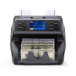 Wt-5000 valor Mezcla de varias monedas contando la máquina, el contador y Clasificador de billetes