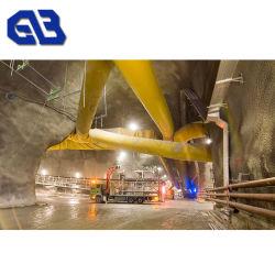 PVC管適用範囲が広いダクトエア・ホースのための帯電防止防水シートファブリック鉱山の排気ダクトファブリック