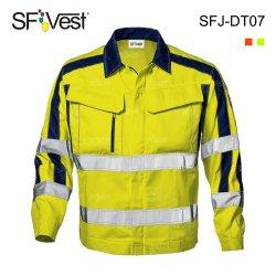 100% полиэстер Hi Vis 3m светоотражающие безопасности дорожного движения бомбардировщик куртка