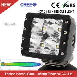 """Offroad 40W Lampe de travail LED 3,5"""" pour Jeep/SUV/ATV (GT14105-40W)"""