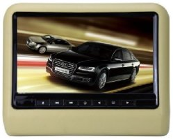 "9"" TFT Widescreen Monitor LED com Manual de DVD carro câmara HD DVR"