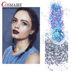 Forme spéciale de grade cosmétique visage Chunky Glitter en poudre