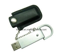 小型の革USBのフラッシュ・メモリのペン駆動機構