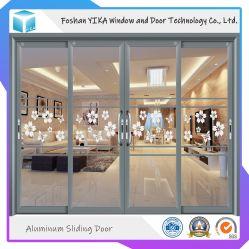 Panel vier, das Aluminiumtür für Wohnzimmer schiebt