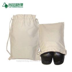 再利用可能な綿のひもの昇進の小さい靴袋のパッケージ袋のギフト バッグ