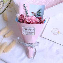 زخارف زهرة جافة زخرفية جيغناجيلا بابيسنفاس زهرة الورد زخارف زفاف هدية عيد الميلاد