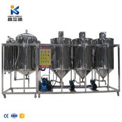 La producción experimentado comestible refinado de aceite de girasol/máquina de la refinería de aceite de cocina