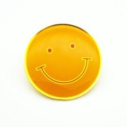 Мода Пользовательский логотип травления мягкой эмали булавка для рекламных