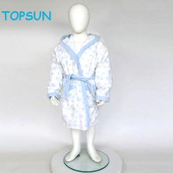 Peu de fille du Coral Fleece peignoir unisexe Robe de vêtements pour bébés enfants pyjama