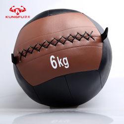 Salle de Gym Fitness et de stress en PVC souple de PU Wall Ball pour la formation d'alimentation