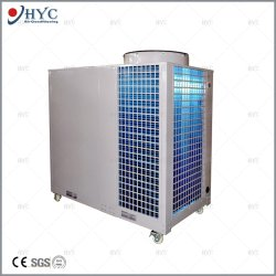 Centro de exposições comerciais móveis portáteis tenda AC/Precisão Industrial embalados no último piso do Condicionador de Ar Central