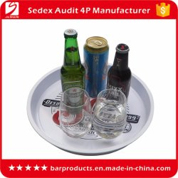 Geschirr Personalisierte Logos Anti-Slip Food Grade Metall-Tray-of-Promotion Geschenke