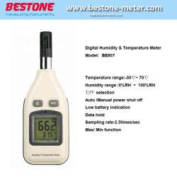 Tester di umidità & di temperatura, termometro, termometro popolare dell'igrometro di Digitahi della fabbrica della Cina (BE807)