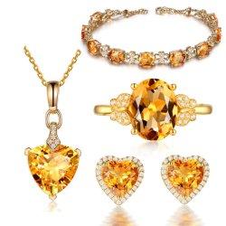 نمو 925 جنيه إسترليني عادة [سترين] حجر كريم مجوهرات مجموعة