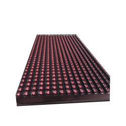 وحدات شاشة LED خارجية مقاومة للماء باللون الأحمر P10