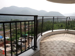 Черные пятна порошковое покрытие оцинкованной стали цинка балкон поручень