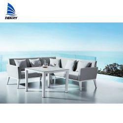 Modernes Metallecken-Garten-Sofa-Garten-Sofa-im Freienmöbel