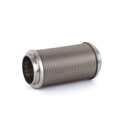 China de acero inoxidable corrugado Auto el tubo de escape con la brida