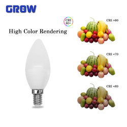 C37 7W E27/E14 energiesparende Lampe mit Cer RoHS EMC LC Birnen-Innenbeleuchtung des Fahrer-LED