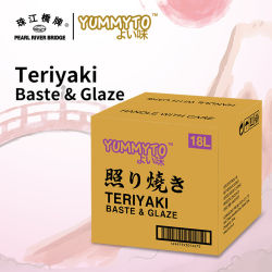Molho Teriyaki (ALINHAVAR & vidrado) 18L Yummyto Japonesa marca molho barbecue