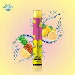 1800puffs Happ plus 6 ml jetable E Cigaretee les saveurs de fruits inhalent stylo vape de 6 ml