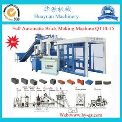 Полностью автоматическая10-15 Qt конкретных твердых пресс для производства кирпича