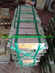 Les lingots d'étain fabricant, l'étain pur à 99,99 % d'étain de lingots de métal aluminium lingot en alliage de zinc avec le meilleur prix