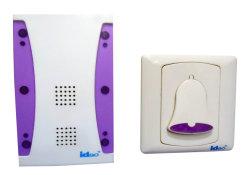 AC sonnette sans fil avec flash de lumière (B-805)