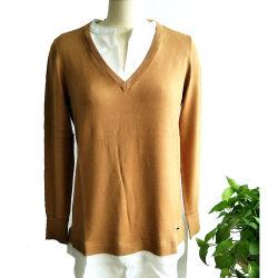 스웨터 여자 개별적인 뜨개질을 하는 스웨터가 2020에 의하여 봄과 가을 형식 직업적인 작풍에 의하여 길쌈된 고리와 바닥 편물 숙녀는 뜨개질을 했다