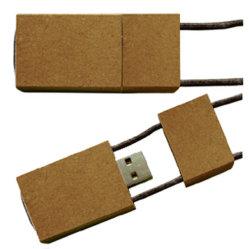 De bulk Aandrijving van de Flits van het Karton USB van het Document van de Douane Embleem Gerecycleerde