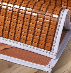 대형 침대 대나무 매트에 의하여 주문을 받아서 만들어지는 대나무 자기 매트