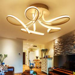 110 فولت LED ثريا أكريليك حديثة غرفة معيشة ضوء السقف