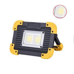 مصابيح عمل قابلة لإعادة الشحن، LED Floodlight محمول مقاومة للماء، إضاءة Soptlight لمخيّم الرحلات في الهواء الطلق تصليح السيارات في حالات الطوارئ