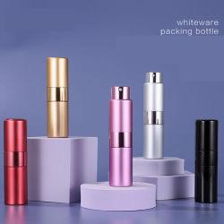 Atomizador de torsión de vacío de vidrio de aluminio de tubo de llenado de botella de perfume