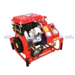 Bewegliche Feuer-Dieselpumpe, die Feuer-Pumpe anstellt